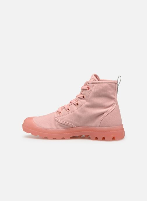 Sneakers Palladium Pampalicious W Roze voorkant