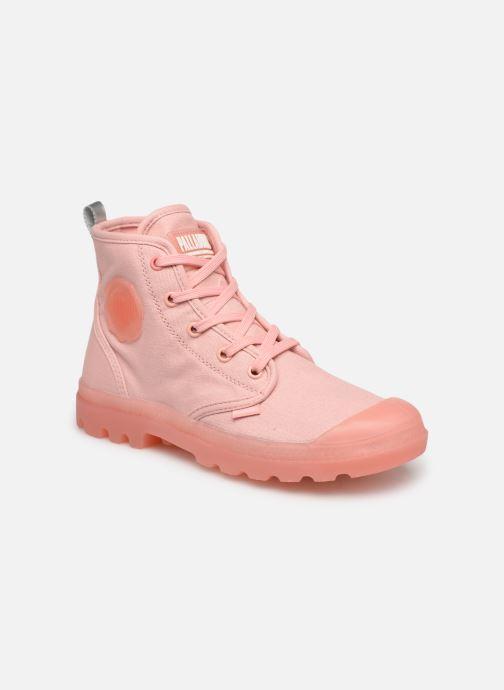 Sneakers Palladium Pampalicious W Roze detail
