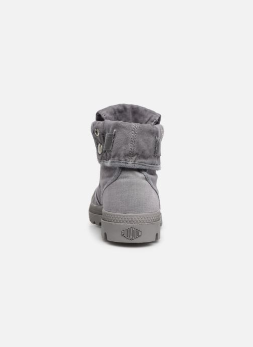 Baskets Palladium Baggy At 2.0 Gris vue droite