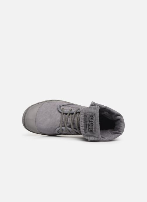 Baskets Palladium Baggy At 2.0 Gris vue gauche