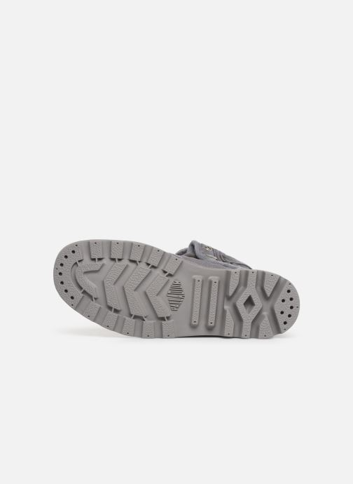 Baskets Palladium Baggy At 2.0 Gris vue haut