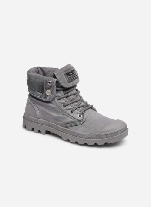 Baskets Palladium Baggy At 2.0 Gris vue détail/paire