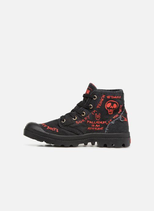 Sneakers Palladium Hi Pr C Nero immagine frontale
