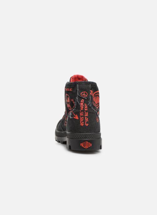 Sneakers Palladium Hi Pr C Nero immagine destra