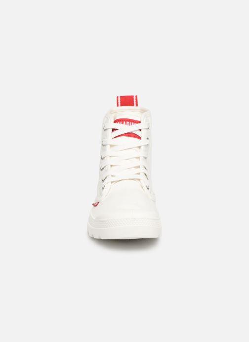 Sneaker Palladium Pampa Hi Dare weiß schuhe getragen