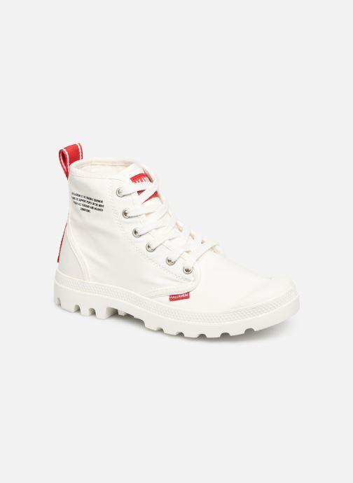 Sneaker Palladium Pampa Hi Dare weiß detaillierte ansicht/modell