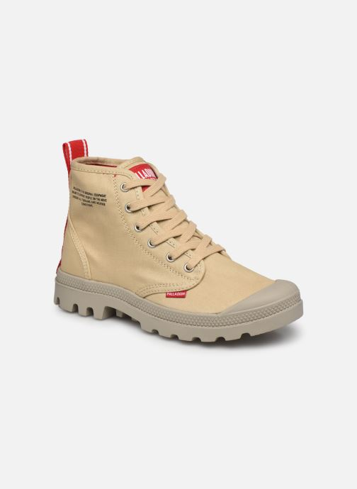 Sneakers Palladium Pampa Hi Dare Beige detail