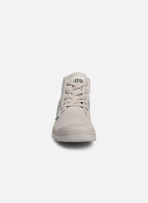 Baskets Palladium Retro Lite Supply Gris vue portées chaussures