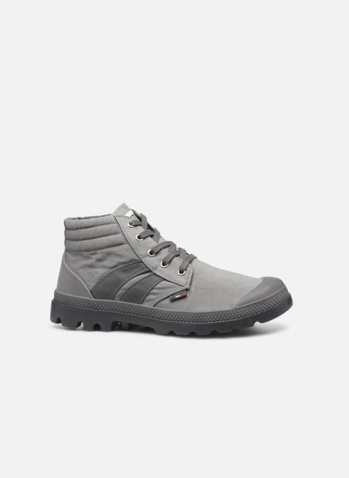 Baskets Palladium Retro Lite Supply Gris vue derrière