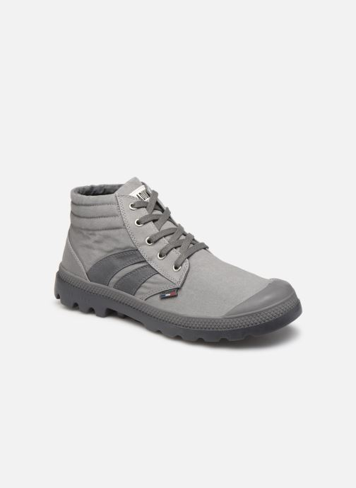 Baskets Palladium Retro Lite Supply Gris vue détail/paire