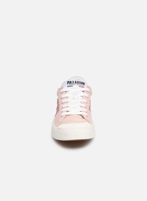 Baskets Palladium Pallaphoenix Flame C Rose vue portées chaussures
