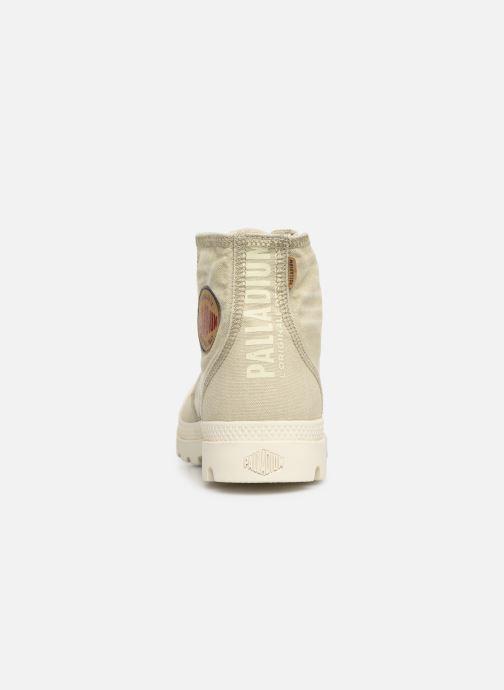 Sneakers Palladium Pampa Hi Denim Beige rechts