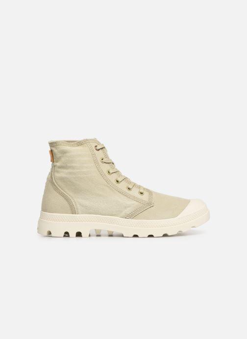Sneakers Palladium Pampa Hi Denim Beige achterkant