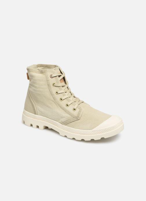 Sneaker Palladium Pampa Hi Denim beige detaillierte ansicht/modell