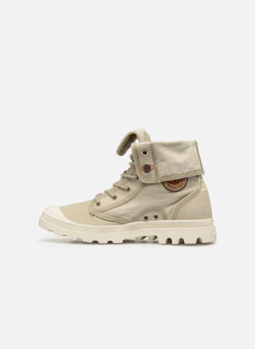 Trainers Palladium Palladenim Baggy Beige front view