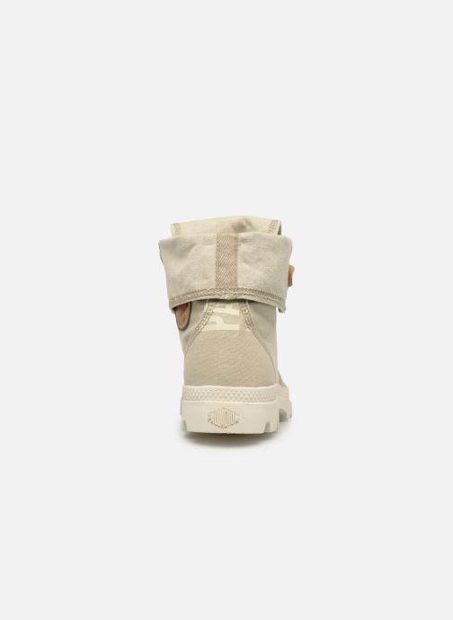 Trainers Palladium Palladenim Baggy Beige view from the right
