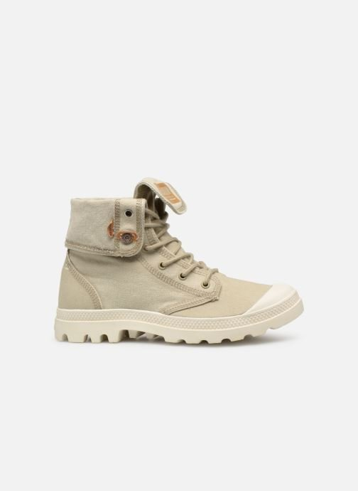 Trainers Palladium Palladenim Baggy Beige back view
