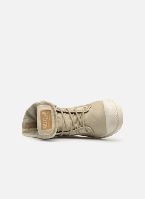 Sneaker Palladium Baggy Denim beige ansicht von links