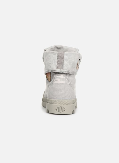 Chez Baskets 359814 Palladium Baggy gris Palladenim Pxa67