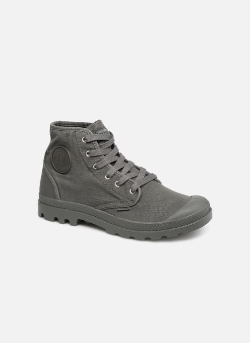 Baskets Palladium Pampa Hi m Gris vue détail/paire