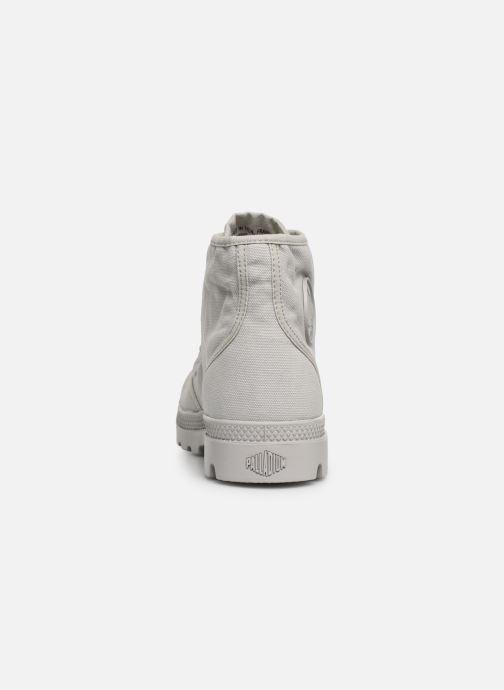 Sneaker Palladium Pampa Hi m grau ansicht von rechts