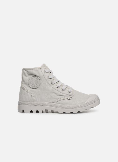 Sneaker Palladium Pampa Hi m grau ansicht von hinten