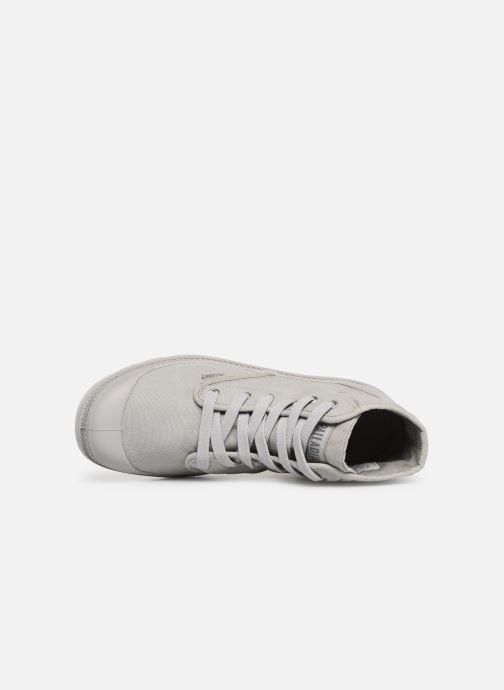 Sneaker Palladium Pampa Hi m grau ansicht von links