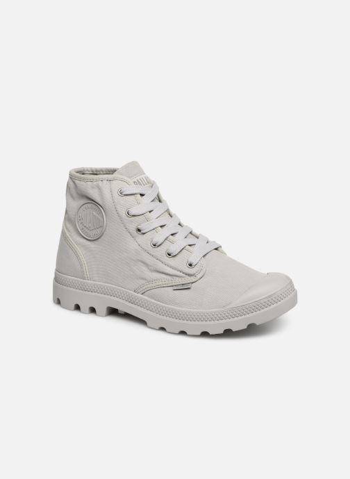 Sneaker Palladium Pampa Hi m grau detaillierte ansicht/modell