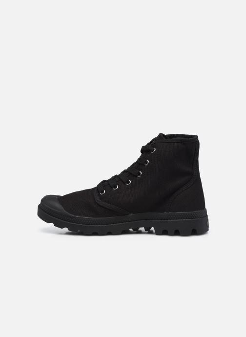 Sneaker Palladium Pampa Hi M NEW schwarz ansicht von vorne