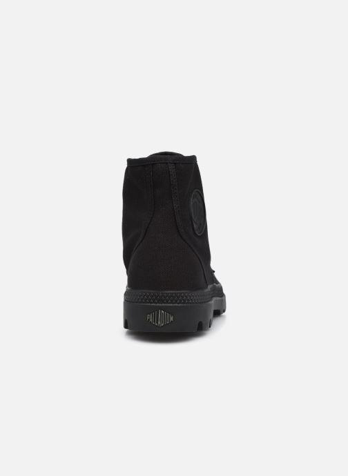 Sneaker Palladium Pampa Hi M NEW schwarz ansicht von rechts