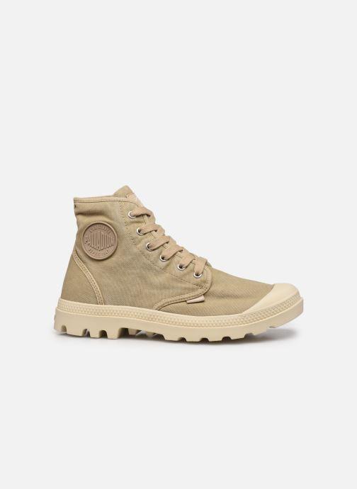 Sneaker Palladium Pampa Hi M NEW beige ansicht von hinten