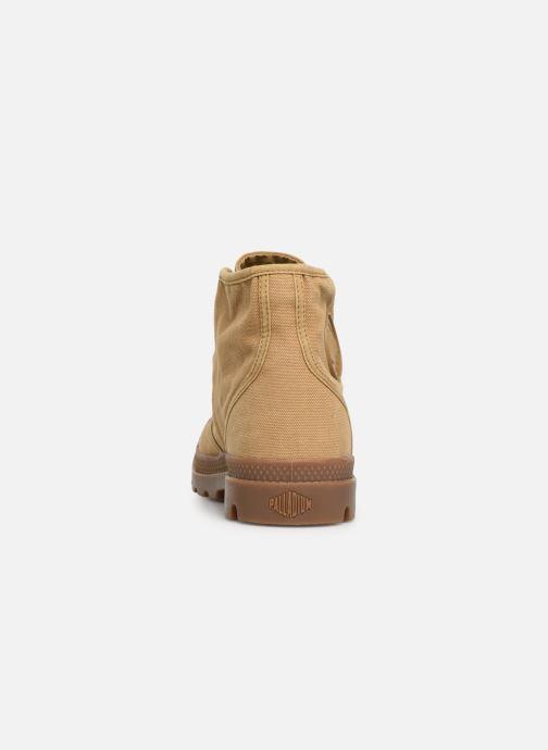 Sneakers Palladium Pampa Hi M Beige rechts