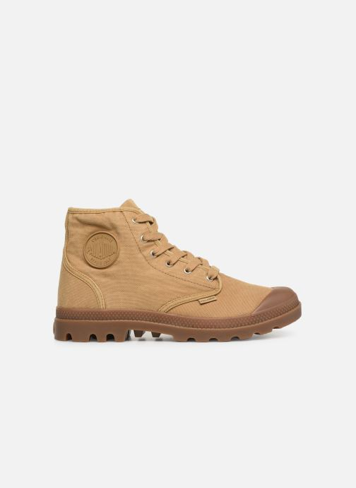 Sneakers Palladium Pampa Hi M Beige achterkant