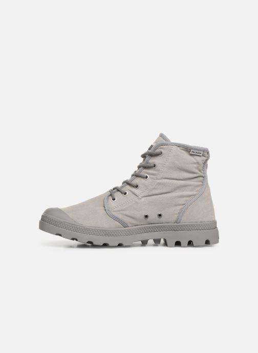 Sneaker Palladium Pampa Hi Tc 2.0 grau ansicht von vorne