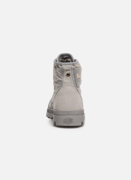 Sneaker Palladium Pampa Hi Tc 2.0 grau ansicht von rechts