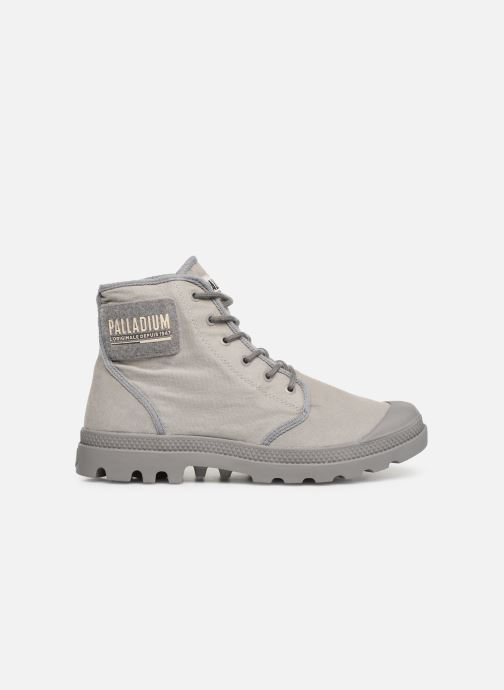 Sneaker Palladium Pampa Hi Tc 2.0 grau ansicht von hinten