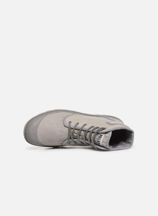 Sneaker Palladium Pampa Hi Tc 2.0 grau ansicht von links