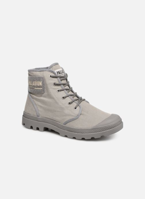 Sneaker Palladium Pampa Hi Tc 2.0 grau detaillierte ansicht/modell