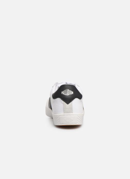 Baskets Palladium Pallaphoenix Flame C Blanc vue droite
