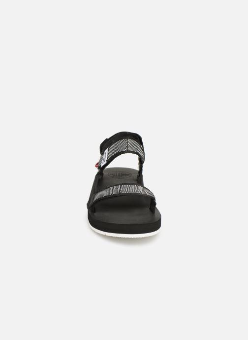 Sandales et nu-pieds Palladium Outdoorsy Strap Camo U Noir vue portées chaussures