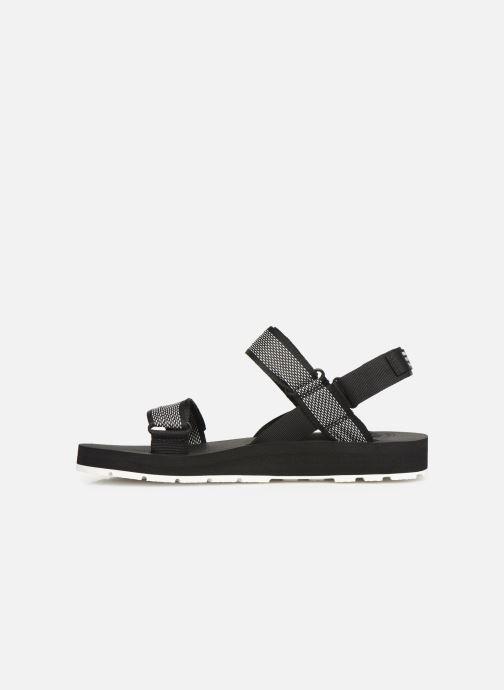 Sandales et nu-pieds Palladium Outdoorsy Strap Camo U Noir vue face