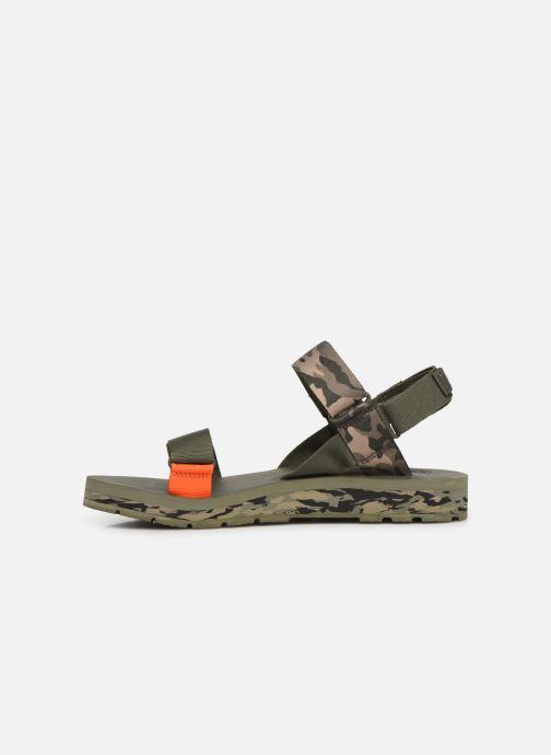 Sandales et nu-pieds Palladium Outdoorsy Strap Camo U Vert vue face