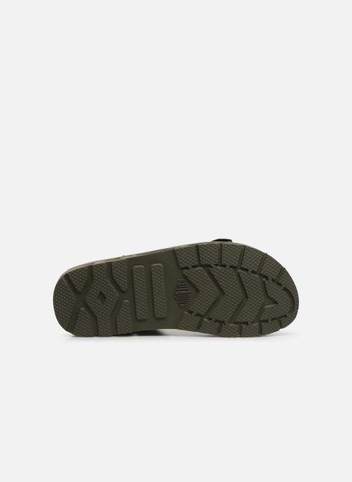 Sandales et nu-pieds Palladium Outdoorsy Strap Camo U Vert vue haut