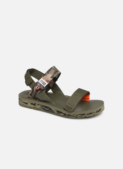 Sandales et nu-pieds Palladium Outdoorsy Strap Camo U Vert vue détail/paire