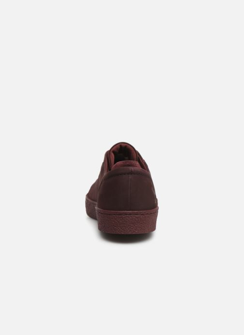 Trainers Le Coq Sportif Club Red view from the right