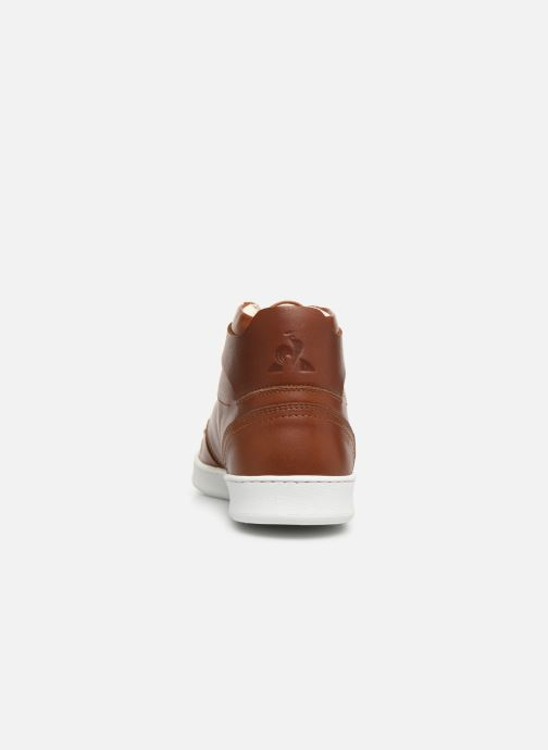 Trainers Le Coq Sportif Prestige Brown view from the right