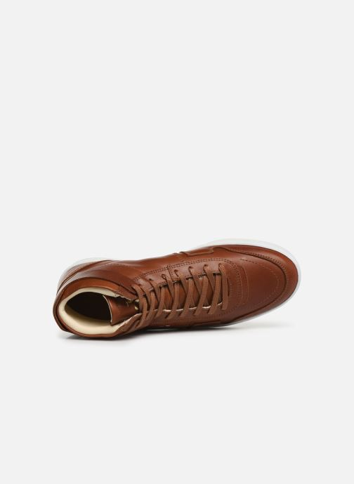 Trainers Le Coq Sportif Prestige Brown view from the left