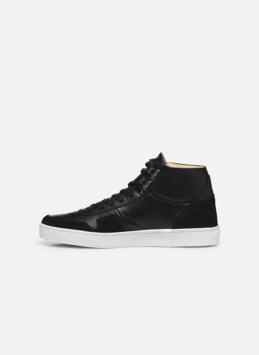 Sneakers Le Coq Sportif Prestige Nero immagine frontale