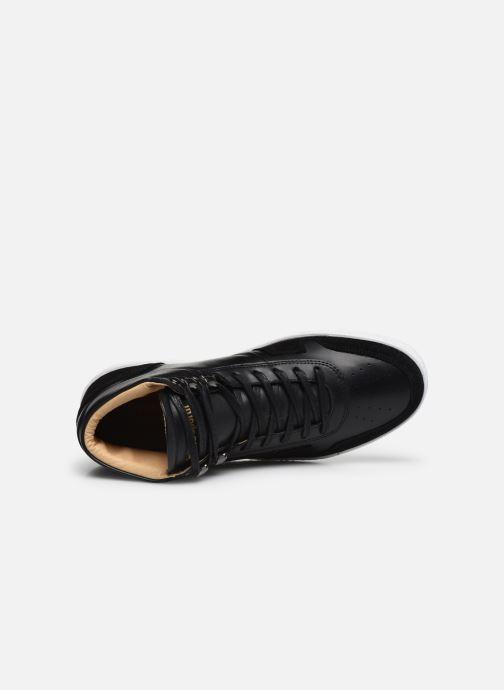 Sneakers Le Coq Sportif Prestige Nero immagine sinistra