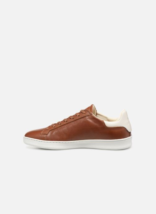 Baskets Le Coq Sportif Avantage Marron vue face